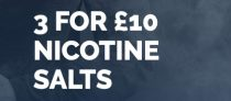 3x Nic Salts for £10 Delivered @ Go-Liquid