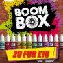 Boom Box Clearance (20 x 10ml Bottles) for £10 @ Freshmist