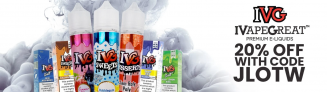 20% Off ALL IVG E-Liquids @ Gourmet E-Liquid